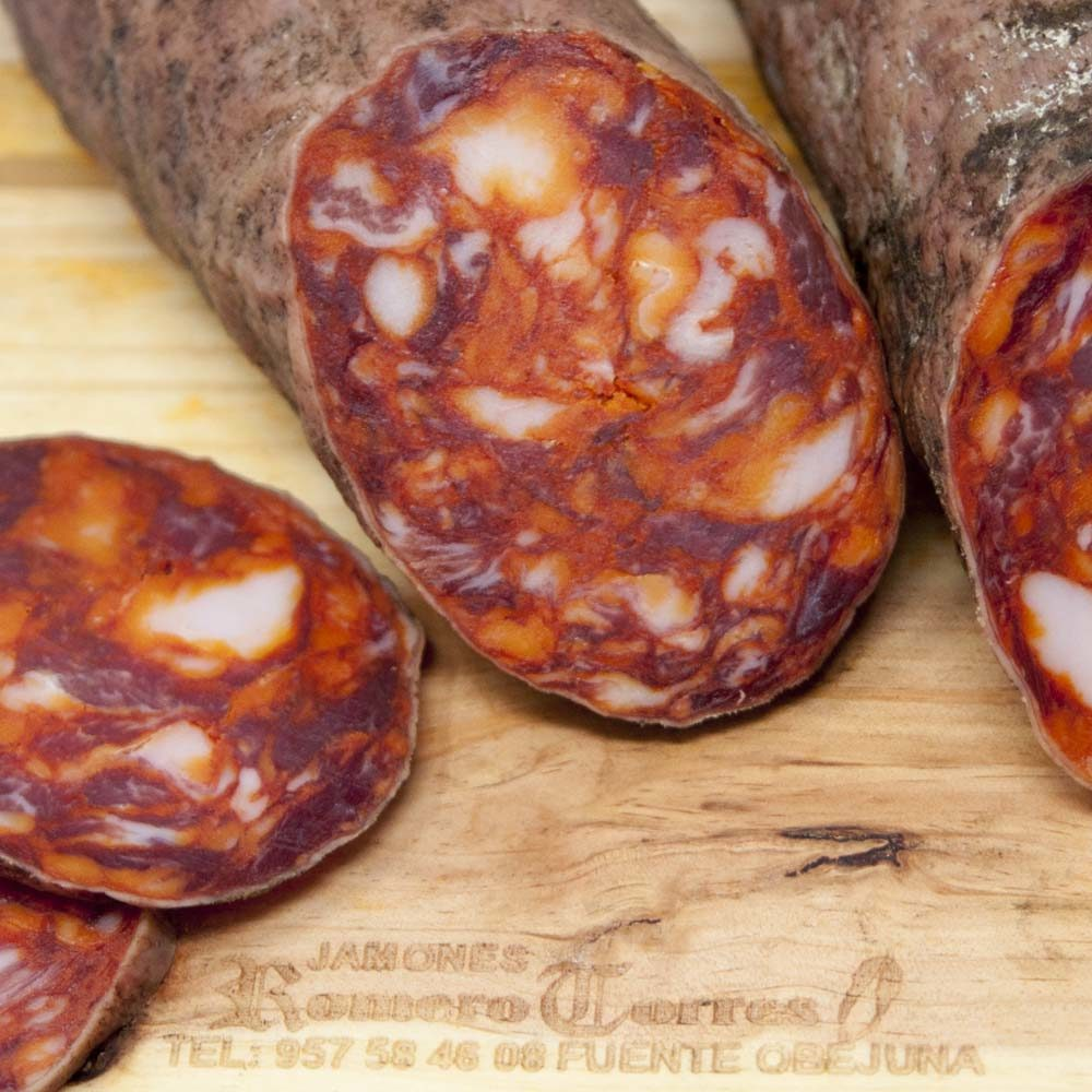 Chorizo Cular Ibérico Bellota Romero Torres